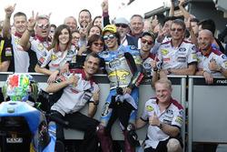 Third place Franco Morbidelli, Marc VDS