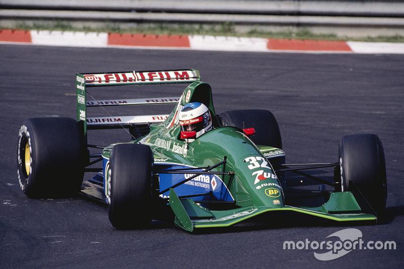 1991: Jordan/Benetton - 14º, 4 puntos, 6 carreras