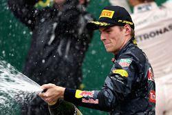 Podium: tercero, Max Verstappen, Red Bull Racing