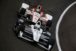 Simon Pagenaud, Team Penske Chevrolet, Tristan Vautier, Dale Coyne Racing Honda