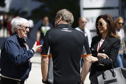 Bernie Ecclestone, presidente Honorario de Fórmula 1