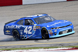 Race winner Kyle Larson, Chip Ganassi Racing Chevrolet