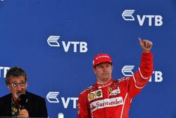 Eddie Jordan, Channel 4 F1 TV and Kimi Raikkonen, Ferrari