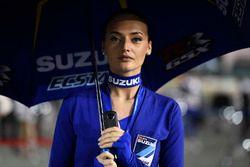 Hot Team Suzuki MotoGP girl