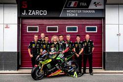 Johann Zarco, Monster Yamaha Tech 3 with the team
