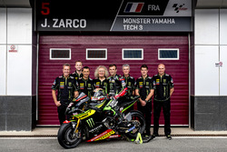 Johann Zarco, Monster Yamaha Tech 3 with the team