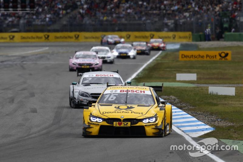 Тімо Глок лідирує на старті, BMW Team RMG, BMW M4 DTM