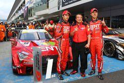 Race winner #38 Zent Cerumo Lexus LC500: Yuji Tachikawa, Hiroaki Ishiura
