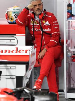 Maurizio Arrivabene, teambaas Ferrari