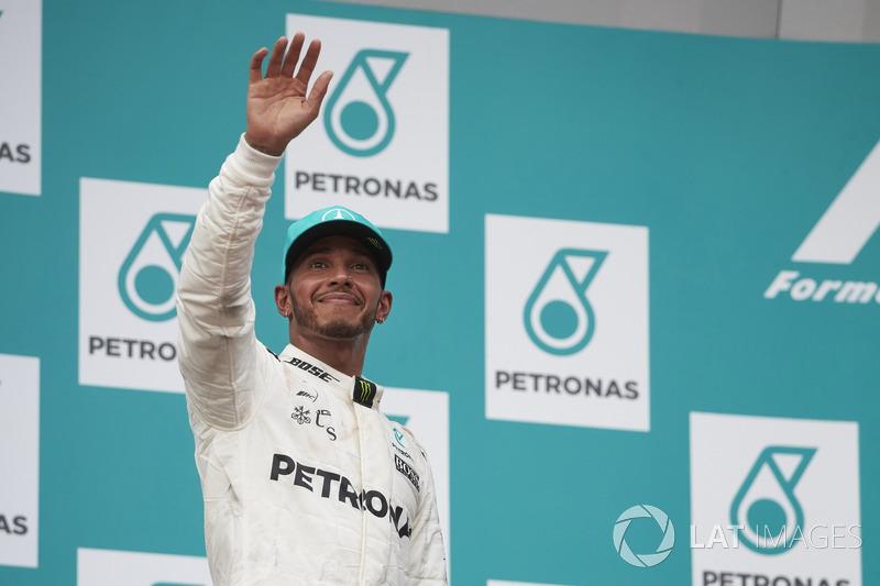 2nd : Lewis Hamilton (Mercedes)