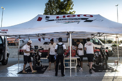 Hero MotoSports Team Rally team area