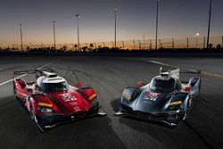 #55 Mazda Motorsports Mazda DPi: Jonathan Bomarito, Tristan Nunez, Spencer Pigot, #70 Mazda Motorspo