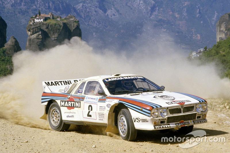 Lancia (11 veces: 1972, 1974-1976, 1983, 1987-1992)