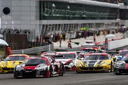 #16 Audi Sport Team Phoenix, Audi R8 LMS: Pierre Kaffer, Rene Rast, Markus Winkelhock