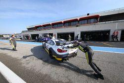 #98 Rowe Racing, BMW M6 GT3: Michael Zehe, Markus Palttala