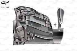 McLaren MP4-31 front wing changes