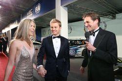 Formule 1-wereldkampioen Nico Rosberg en vrouw Vivian