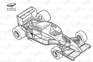 Williams FW14 1991 detailed overview
