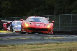 #62 Risi Competizione Ferrari 488 GTE: Giancarlo Fisichella, Toni Vilander