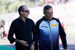 Robert Kubica, Mario Isola, Pirelli Racing Manager