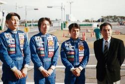 1997年のSRS-Fスカラシップの3人。金石年弘、松田次生、佐藤琢磨