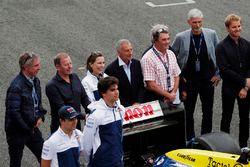 Jason Plato, Martin Brundle, Claire Williams, Riccardo Patrese, Nigel Mansell, Keke Rosberg, Damon H