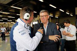 David Croft, Ross Brawn, Director de Motorsports, FOM