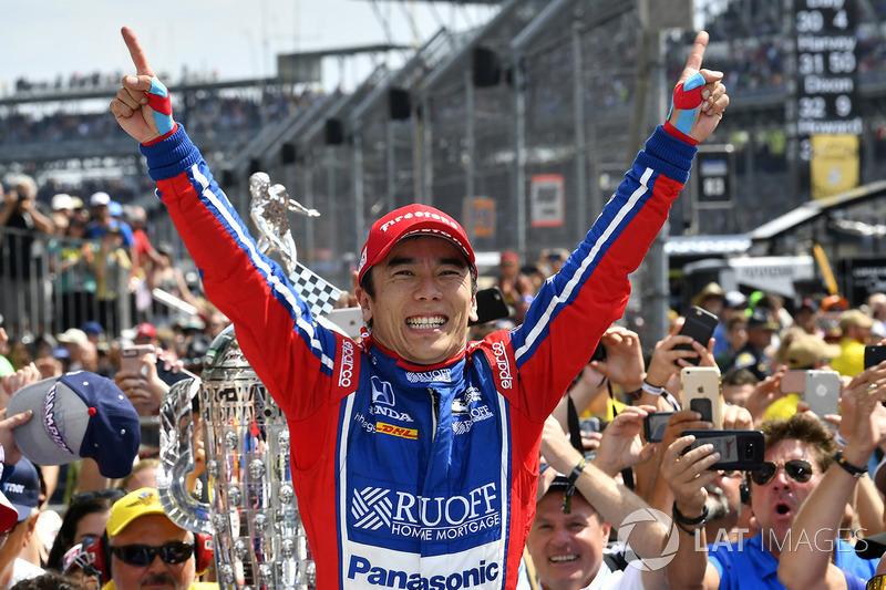 2017: Takuma Sato, Andretti Autosport