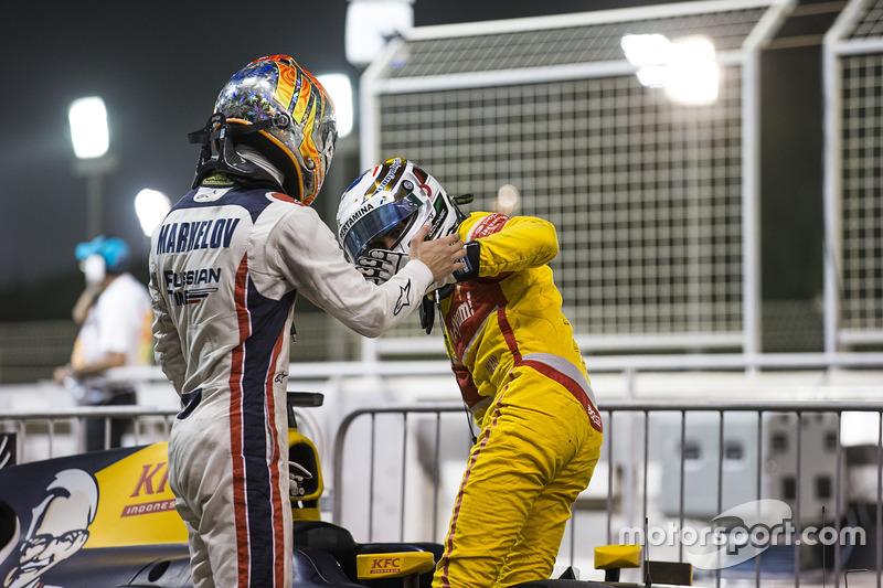 Artem Markelov, RUSSIAN TIME & Antonio Giovinazzi, PREMA Racing