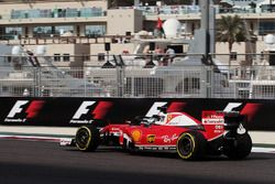 Sebastian Vettel, Ferrari SF16-H avec le Halo