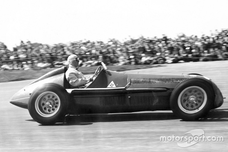 1st race: 1950 British Grand Prix