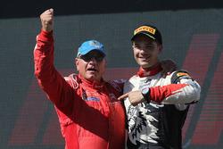 Podium WRC3: ganadores, Michel Fabre, Maxime Vilmot