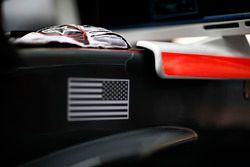 Handschuhe von Kevin Magnussen, Haas F1 Team