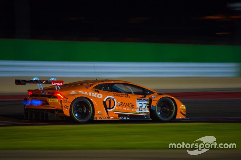 #27 Orange 1 Team Lazarus, Lamborghini Huracan GT3: Fabrizio Crestani, Gustavo Yacaman