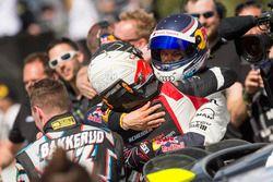 Mattias Ekström, EKS, Audi S1 EKS RX Quattro fête sa victoire