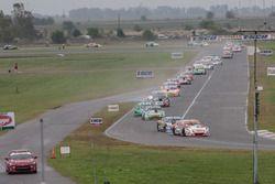Sergio Alaux, Donto Racing Chevrolet, Julian Santero, Coiro Dole Racing Torino, Gaston Mazzacane, Co