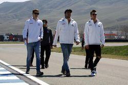 James Nash, Lukoil Craft-Bamboo Racing, Pepe Oriola, Lukoil Craft-Bamboo Racing, Hugo Valente, Lukoil Craft-Bamboo Racing