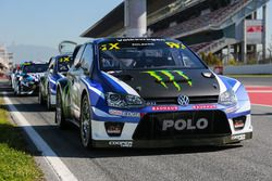The car of Petter Solberg, PSRX Volkswagen Sweden, VW Polo GTi