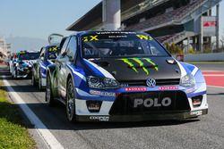 El coche de Petter Solberg, PSRX Volkswagen Sweden, VW Polo GTi
