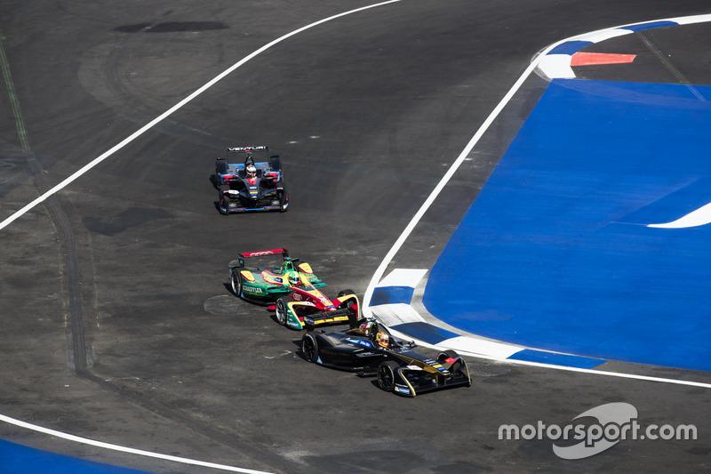 Esteban Gutiérrez, Techeetah y Lucas di Grassi, ABT Schaeffler Audi Sport