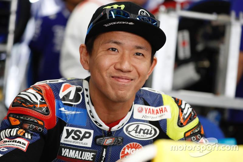#21 Yamaha Factory Racing Team: Katsuyuki Nakasuga