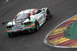 #55 Kaspersky Motorsport Spirit Of Race Ferrari 488 GT3: Giancarlo Fisichella, Marco Cioci, James Ca