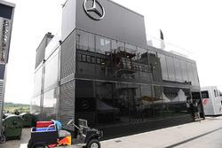Motorhome de Mercedes AMG F1 W08