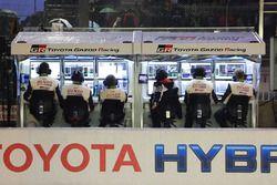 Toyota Racing pitmuur
