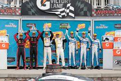 Podyum: 1. Joao Barbosa, Christian Fittipaldi, Action Express Racing, 2. Eric Curran, Dane Cameron,