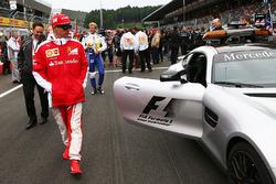 Kimi Räikkönen, Ferrari sur la grille
