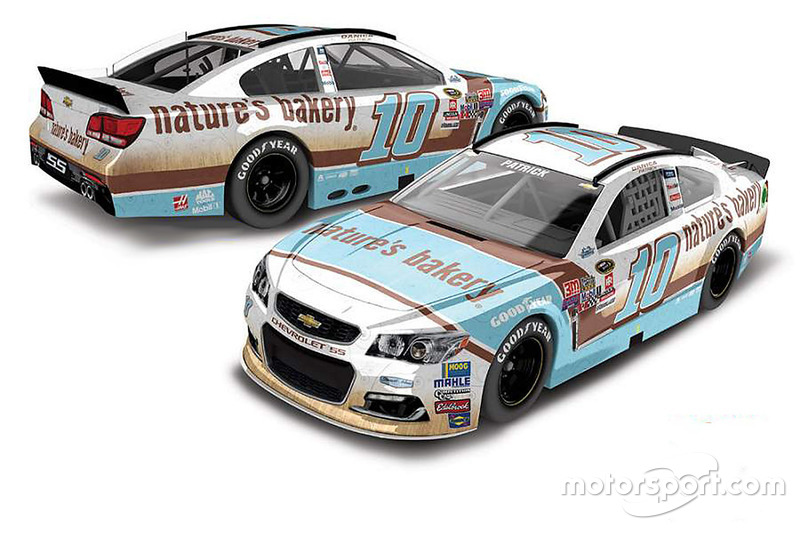 Throwback-Design von Danica Patrick, Stewart-Haas Racing, Chevrolet