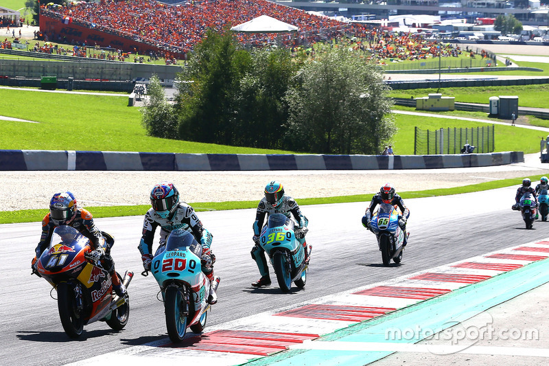 Binder, Fabio Quartararo, Leopard Racing