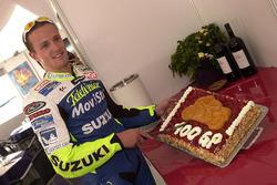 Sete Gibernau feiert seinen 100. GP