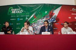 Luis Díaz, Greaves Motorsport, Ricardo González, RGR Sport by Morand, Jorge Abed commissaire FIA et Alfonso Toledano, Manor Racing